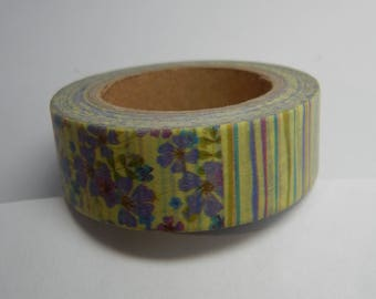Floral Forest Washi Tape 15mm X 10m