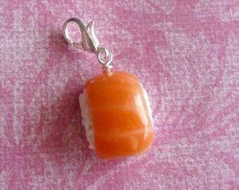 Sushi Charm Miniature Food Jewelry Japanese Sushi Polymer Clay Sushi