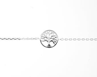 Tree of Life Bracelet - Silver or Gold Fill
