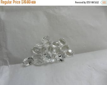 Summer Sale 19 6x4 mm White Topaz Lose Oval Gemstones