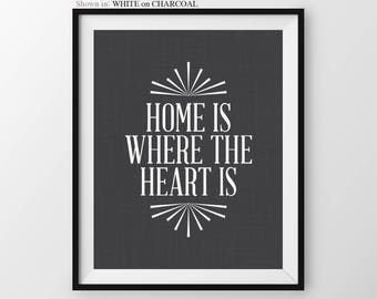 Home Sweet Home Sign Foyer Decor Front Door Decor Home Is Where The Heart Is New Home Gift Housewarming Gift New Homeowner Gift Home Sign