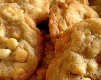 White Chocolate Macadamia Nut Cookies 2 Dozen