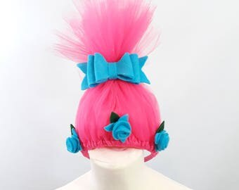 Poppy Troll Inspired Headband suitable for Children