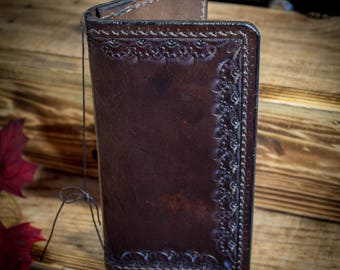 Leather Long Wallet Traditional