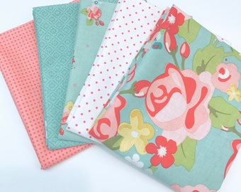 Bundle Hello Gorgeous by My Minds Eye For Riley Blake Designs - 5 Fabrics