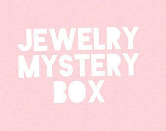 Vintage Jewelry Mystery Box Grab Bag Jewellery Collection Surprise Envelope Package Accessories Earrings Necklace Bracelet Pin Brooch Vtg
