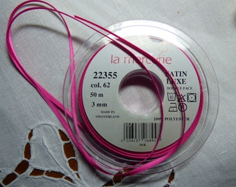 3mm 62 sold by the yard color satin ribbon