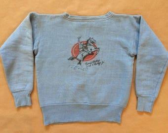 1950s rare Gene Autry sweatshirt !