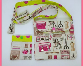 "Mini ""couture"" for little girl purse"