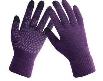 Custom Design Rhinestone Gloves