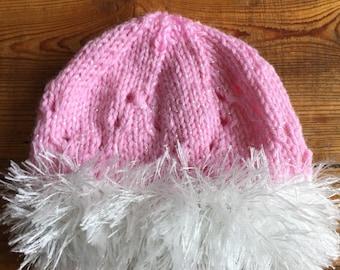 0-3 Month Newborn Girl Baby Hat
