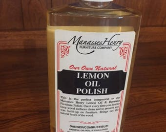 Lemon Oil  Polish   16oz