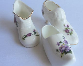Bone China Shoe Etsy