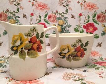Vintage Bowl and jug