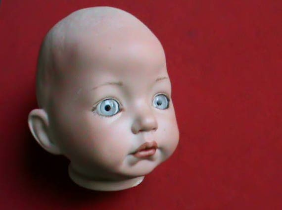 ... Doll Head Light Bright Blue Glass Eyes. Sold By SouthernTraders