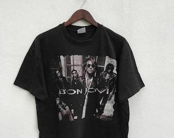 20% OFF Vintage Bon Jovi Keep The Faith 90s Shirt / Band Shirt / American Band / Bon Jovi Vintage