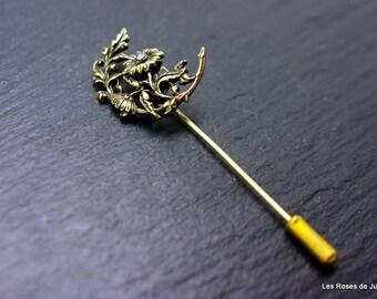 Brooch pin flower brooch