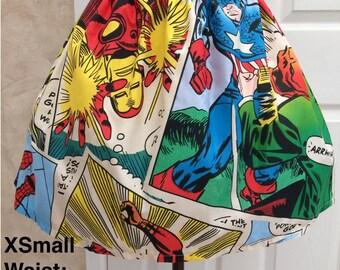 Ladies Comic Book Skirt (Various sizes)
