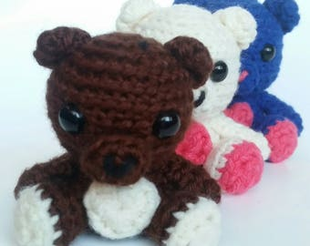 Crochet Bear Amigurumi Plush toy