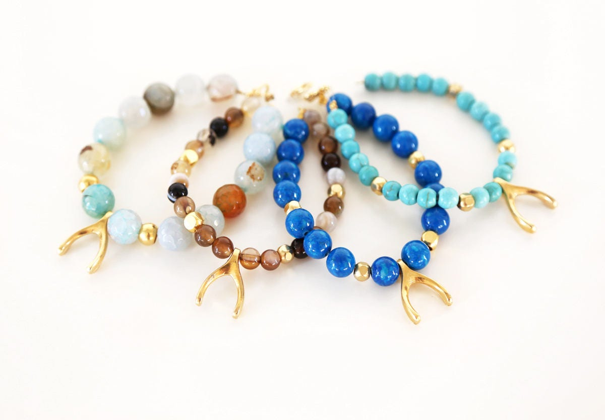 necklaces necklace childrens stones rainbow jewellery semi precious stone and amber baby health