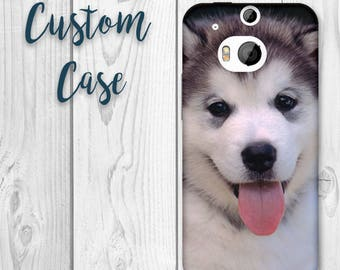 HTC M8 Case Custom Photo Case, Design Your Own Personalized Case, Monogrammed Phone