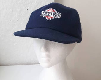 Vintage Special Limited Edition Wool Embroidered Irving Snap-Back Baseball Cap