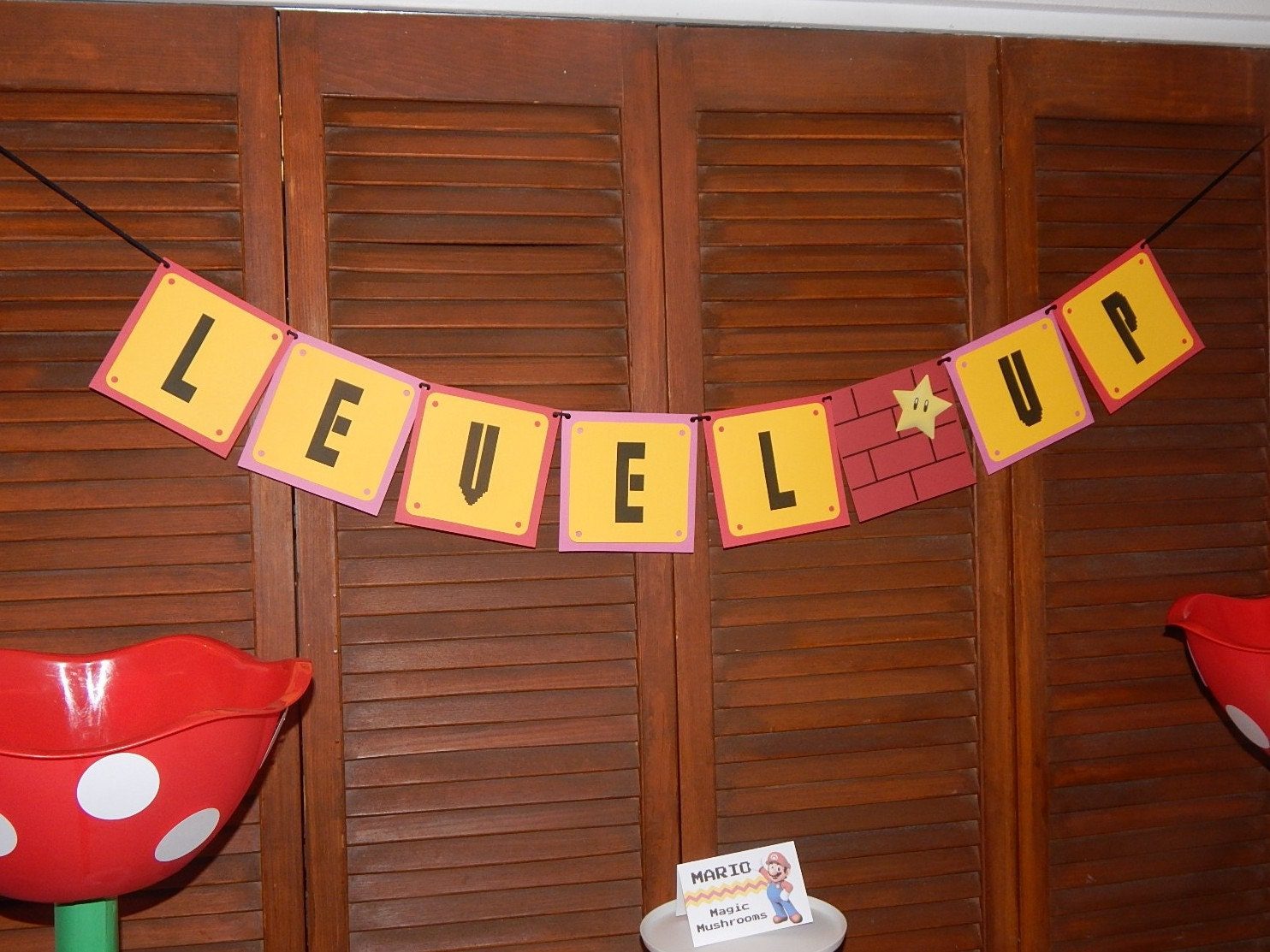 Level Up - Its a Girl Banner