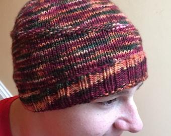 Simple Swish Hat, #40 Merino Wool
