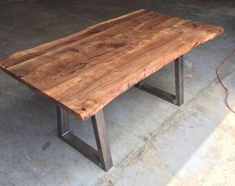 Claro Walnut Desk/Dining Table