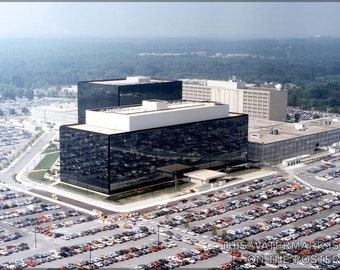 Poster, Many Sizes Available; Nsa Headquarters In Fort Meade, Maryland