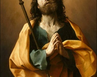 40% OFF SALE Poster, Many Sizes Available; Guido Reni Saint James The Greater