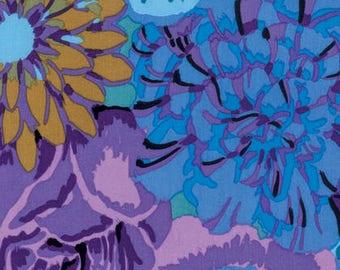 Kaffe Fassett Fabric Spring 2017  Bekah Print Lavendar Phillip Jacobs Quilting, Free Spring