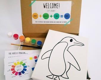 Penguin Paint Kit