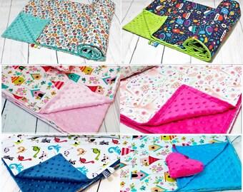 Minky Blanket,Baby Blanket,Toddler Blanket,Cot Pram Blanket,Baby Bedding,Custom Minky Blanket,Baby Shower Gift,Nursery Bedding,Made to Order