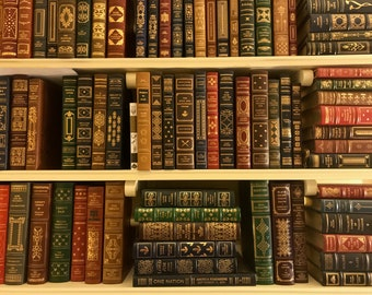 Franklin Library and Easton Press Leather Books