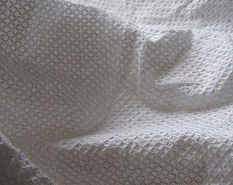 off white cotton lace fabric white embroidered lattice lace cotton fabric