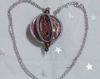 Necklace with ball capsules Nespresso