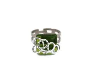Unique aluminum wire ring