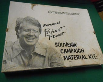 Jimmy Carter Souvenir Campaign Material Kit