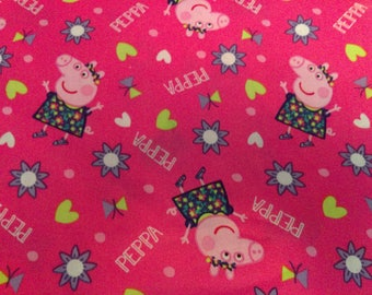 Fast Shipping Peppa Pig scrub top made to order xs to xl  4 different neck design 100% Cotton great quality brand new