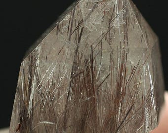 Polished Rutilated Quartz Crystal, Brazil - Mineral Specimen for Sale