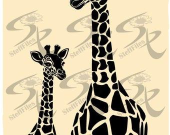 0789_Vector Giraffe AnimalsDownload files,Digital, graphical,AI,EPS, SVG,dxf,png,eps,jpg