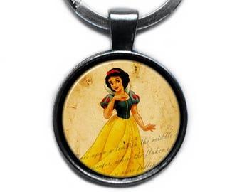 Snow White Keychain Keyring