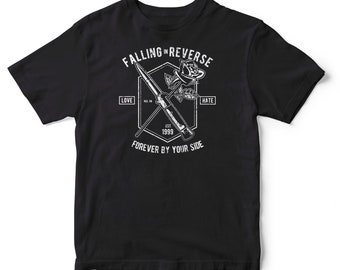 Falling in Reserve Cotton T-shirt