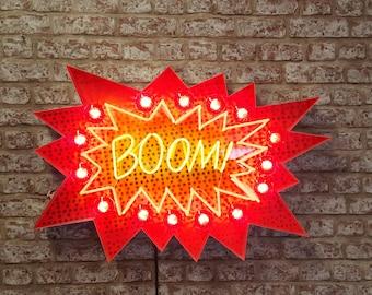 Neon Pop Art sign