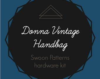 Donna Vintage Handbag - Swoon Hardware Kit