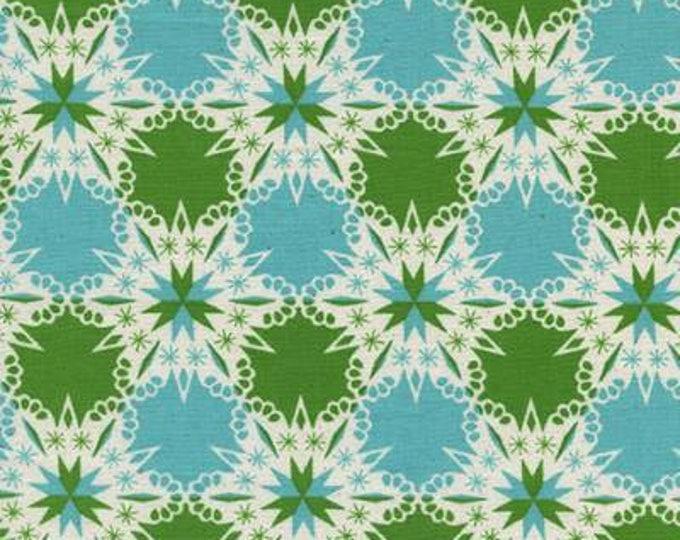 Noel by Cotton + Steel - Kaleidescope Green - Cotton Woven Fabric