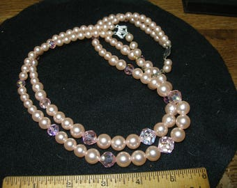 LAGUNA Faux Pearl Necklace(755)