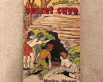 Vintage The Secret Cave Children's Book