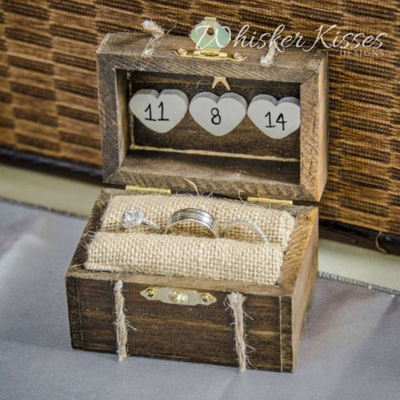 Wedding Proposal Ideas Beach: Rustic Wedding Ring Box Engagement Ring Box Beach Proposal